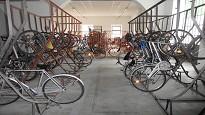 Parcheggio biciclette condominio