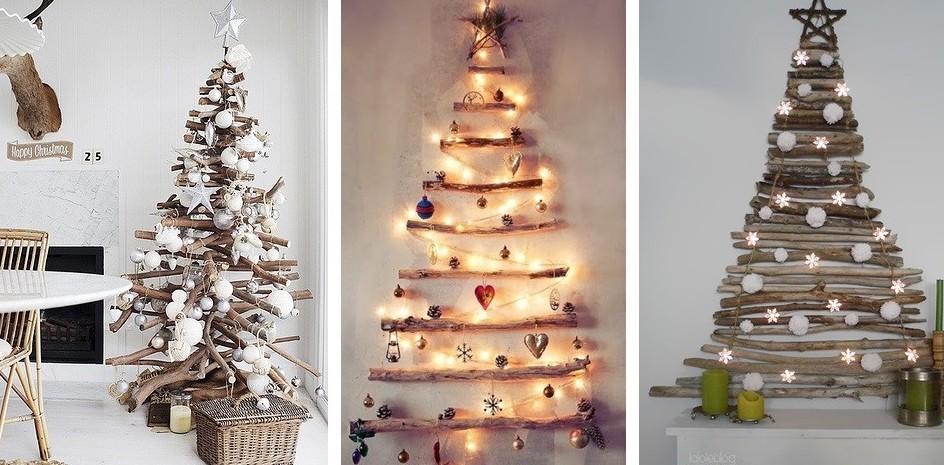 10 idee per alberi di Natale particolari e fai-da-te