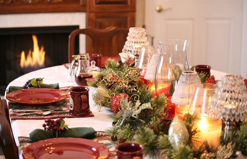 15 idee originali per decorare la tavola di Natale