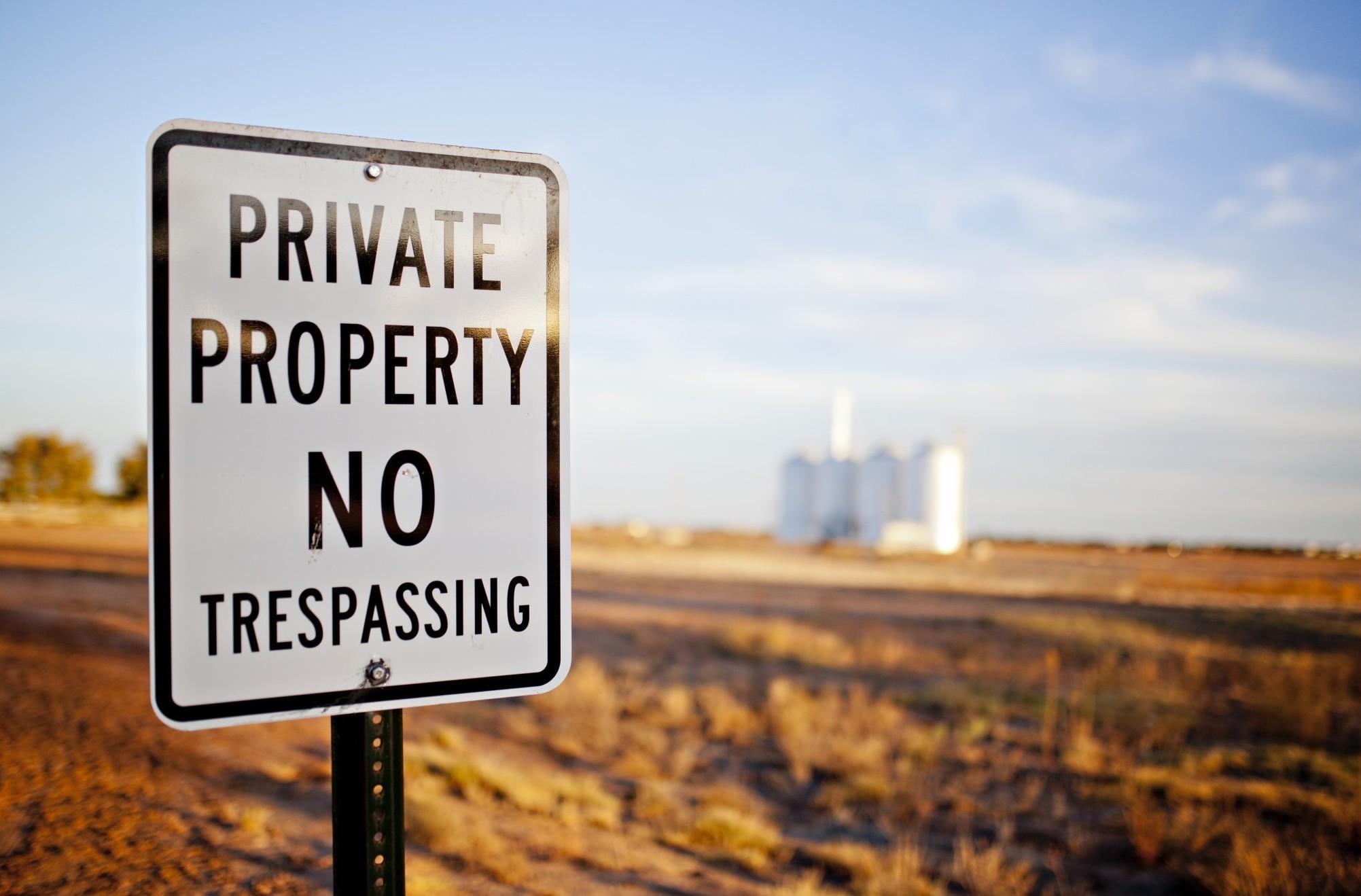 Come delimitare una proprietà privata