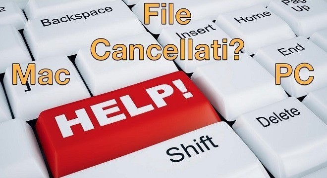Come recuperare file cancellati da pc e smartphone