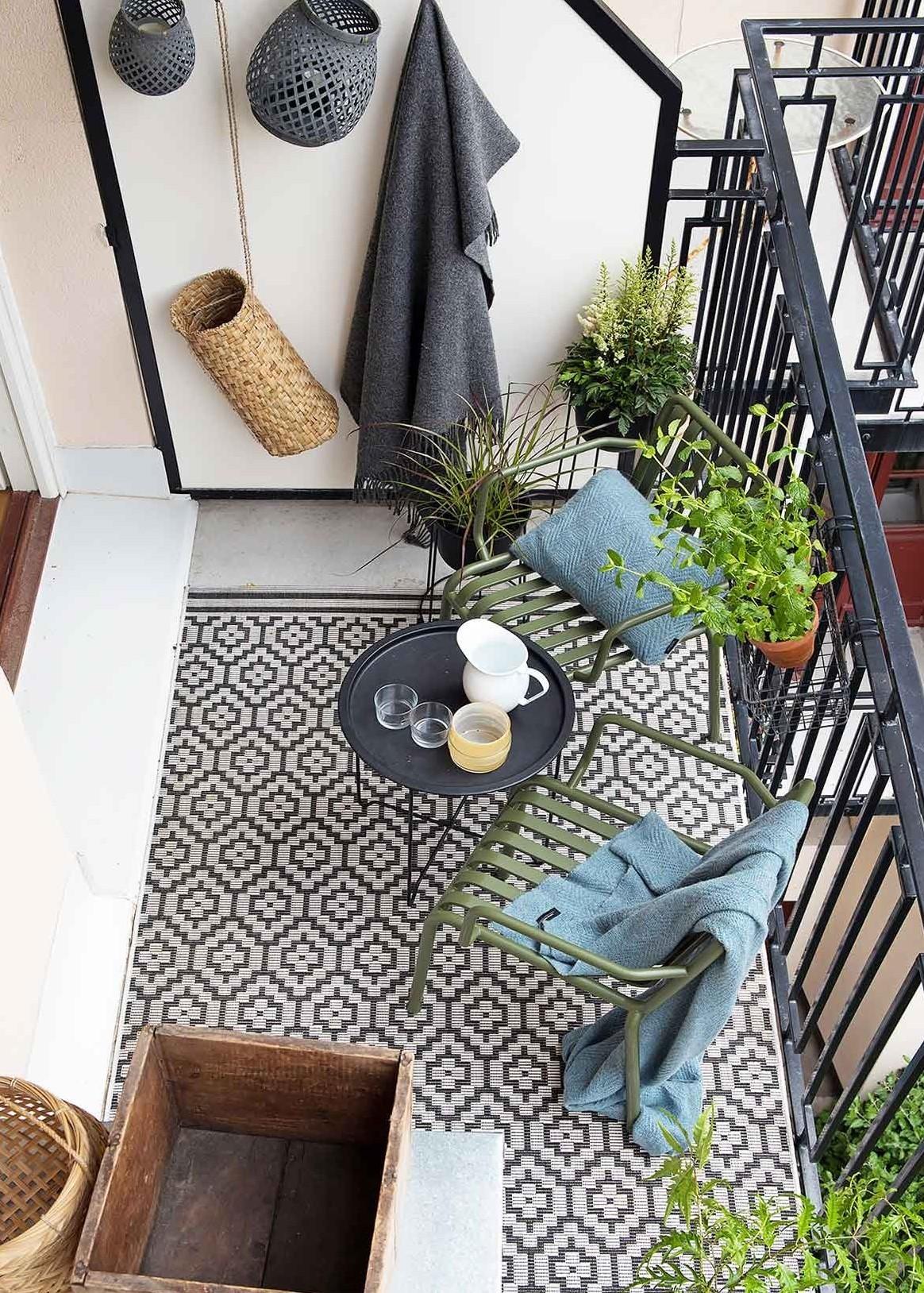 Cosa si può mettere su un balcone di una casa in condominio o è vietato