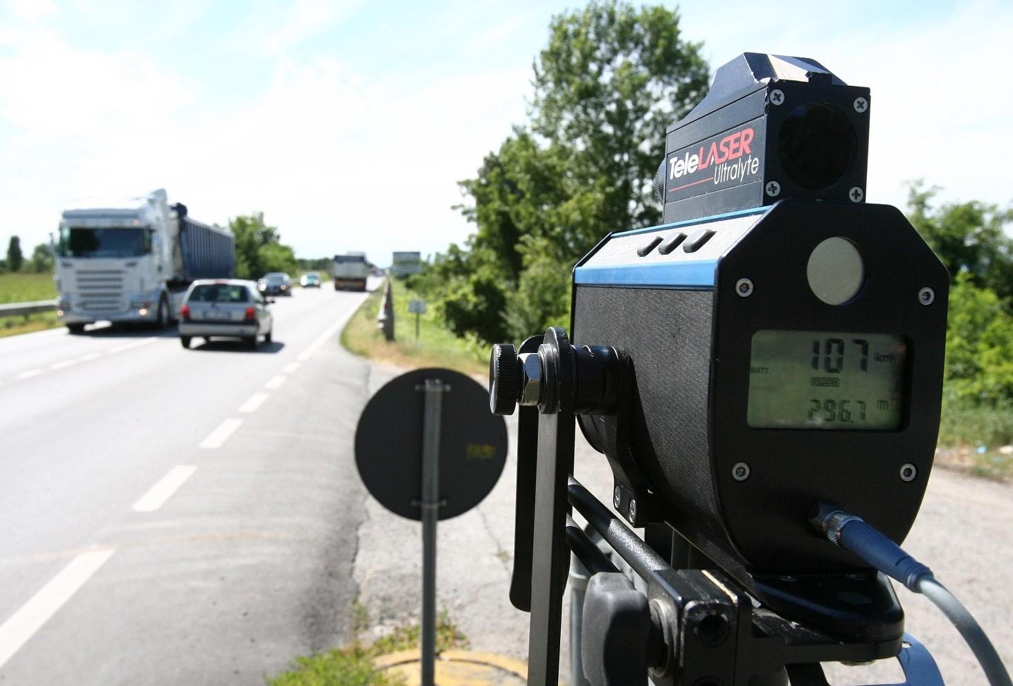 Multa per eccesso di velocità: limiti e sanzioni