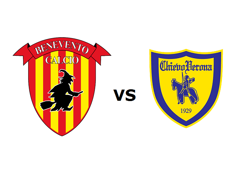 Benevento Chievo streaming
