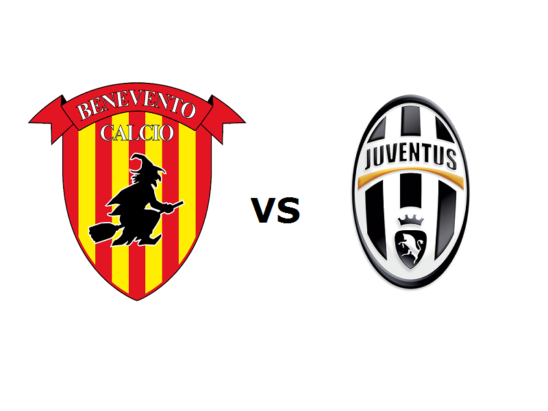Benevento Juventus streaming