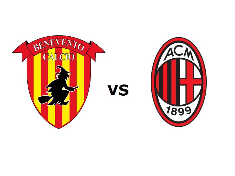 Benevento Milan streaming