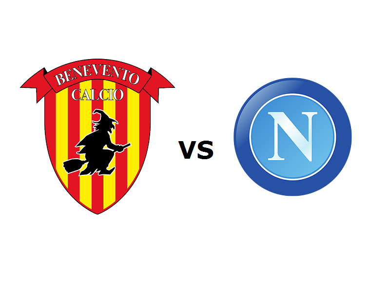 Benevento Napoli streaming