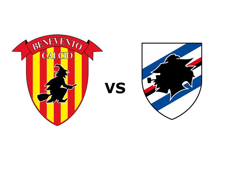 Benevento Sampdoria streaming