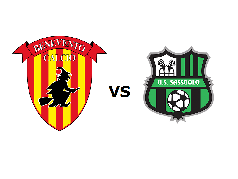 Benevento Sassuolo streaming