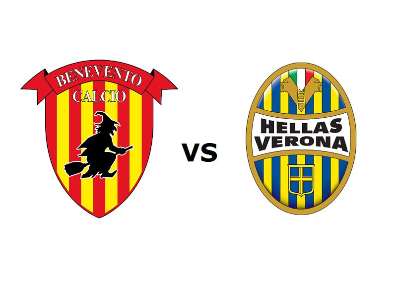 Benevento Verona streaming