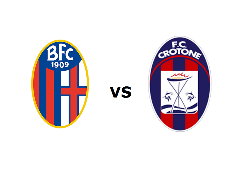 Bologna Crotone streaming