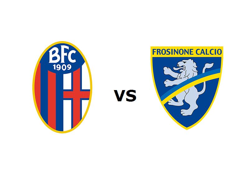 Bologna Frosinone streaming