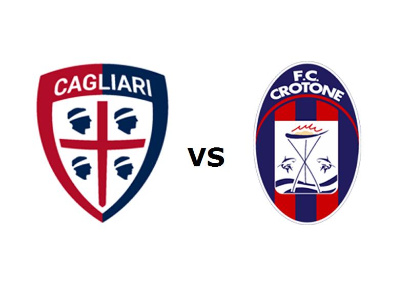 Cagliari Crotone streaming
