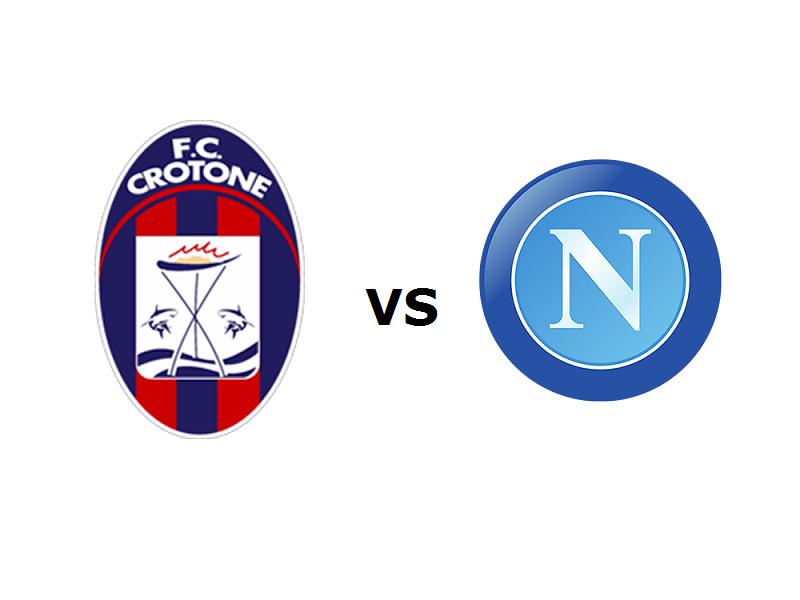 Crotone Napoli streaming