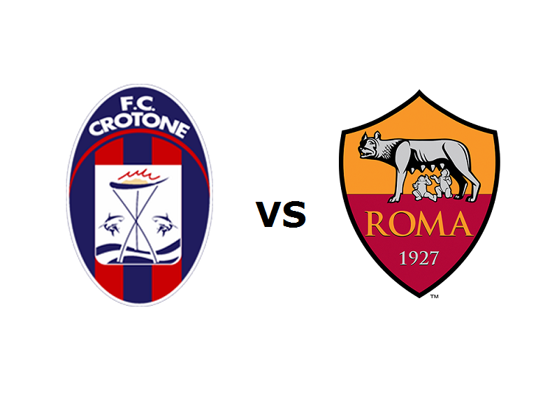 Crotone Roma streaming