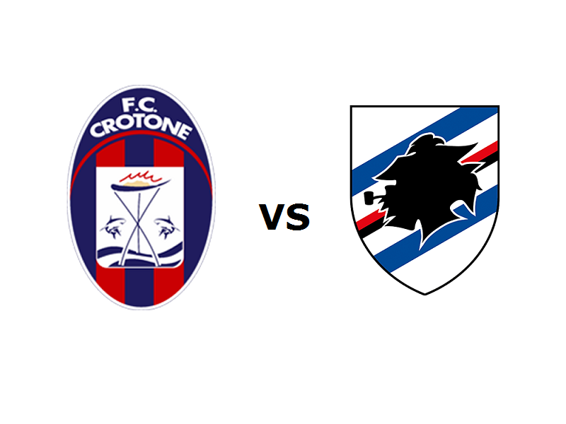 Crotone Sampdoria streaming