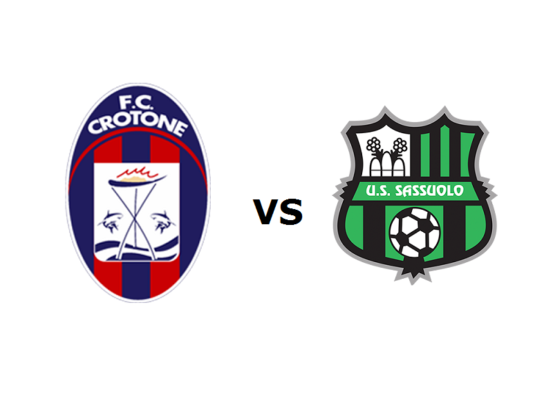 Crotone Sassuolo streaming