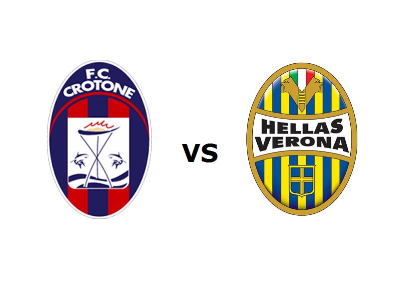 Crotone Verona streaming