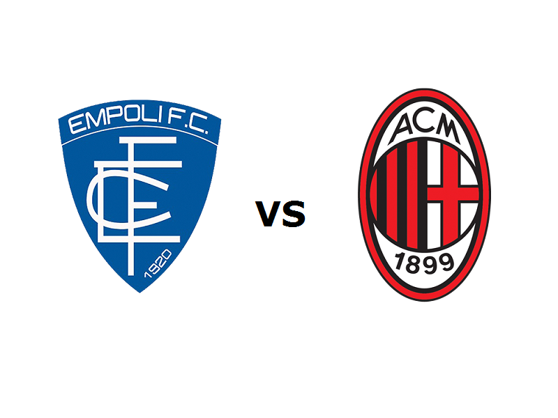 Empoli Milan streaming