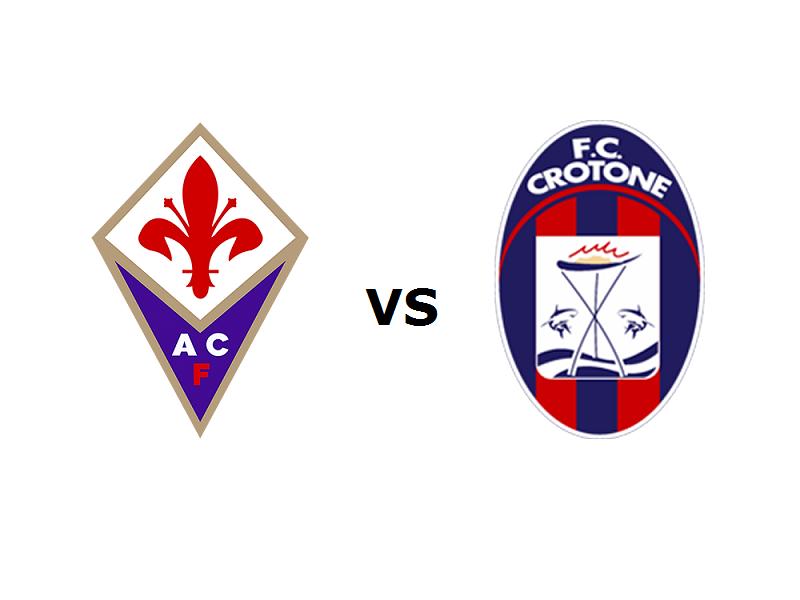 Fiorentina Crotone streaming