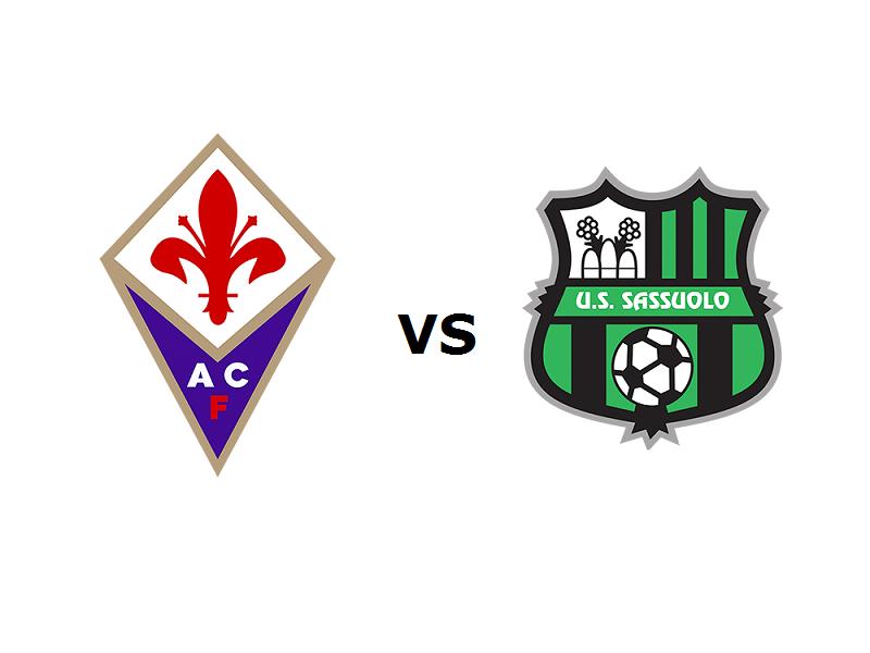 Fiorentina Sassuolo streaming