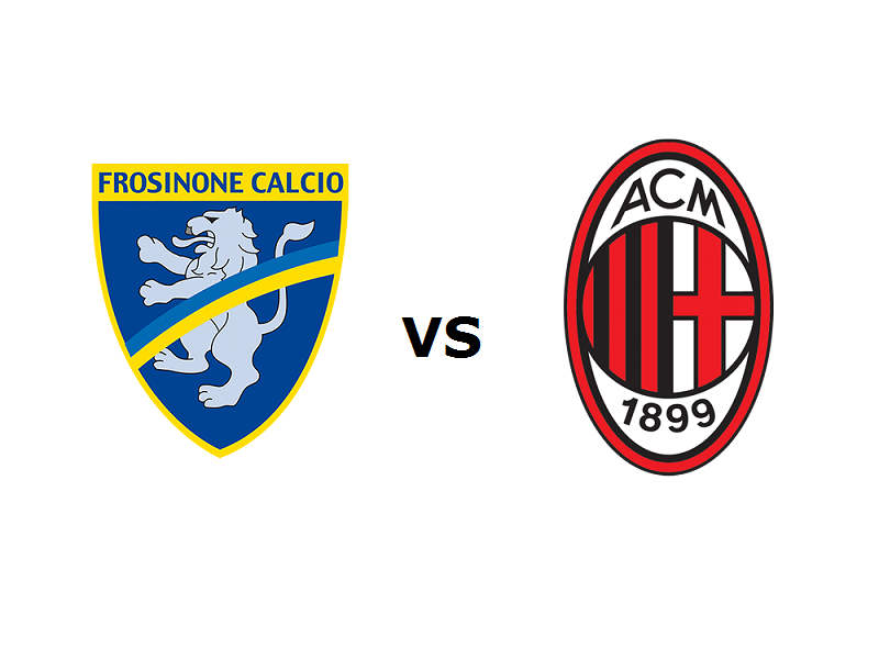 Frosinone Milan streaming