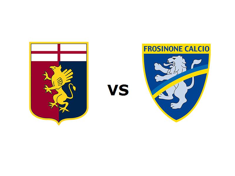 Genoa Frosinone streaming