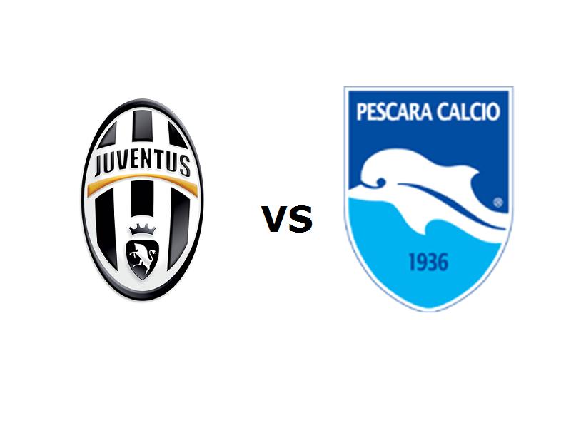 Juventus Pescara streaming