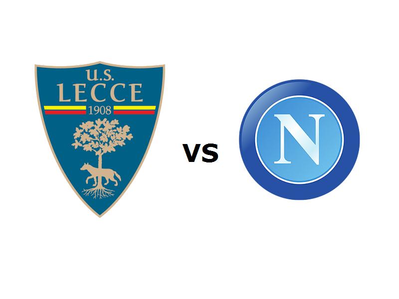 Lecce Napoli streaming