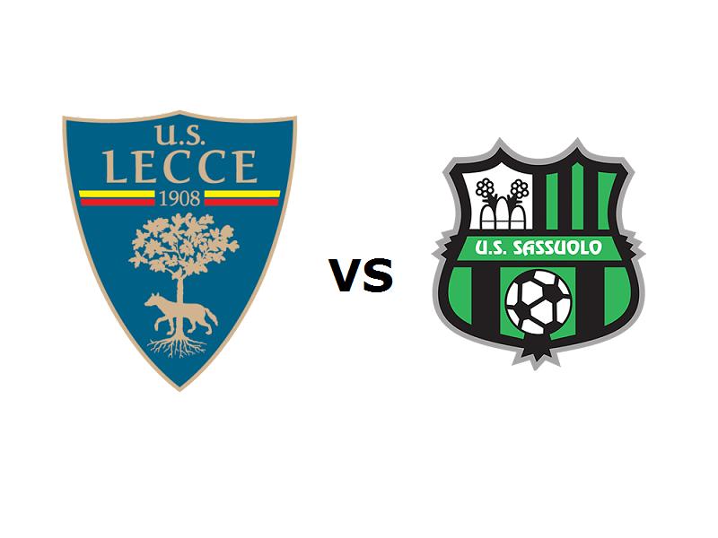 Lecce Sassuolo streaming