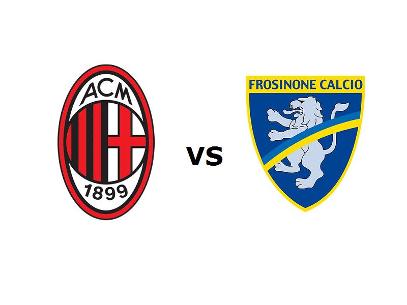 Milan Frosinone streaming