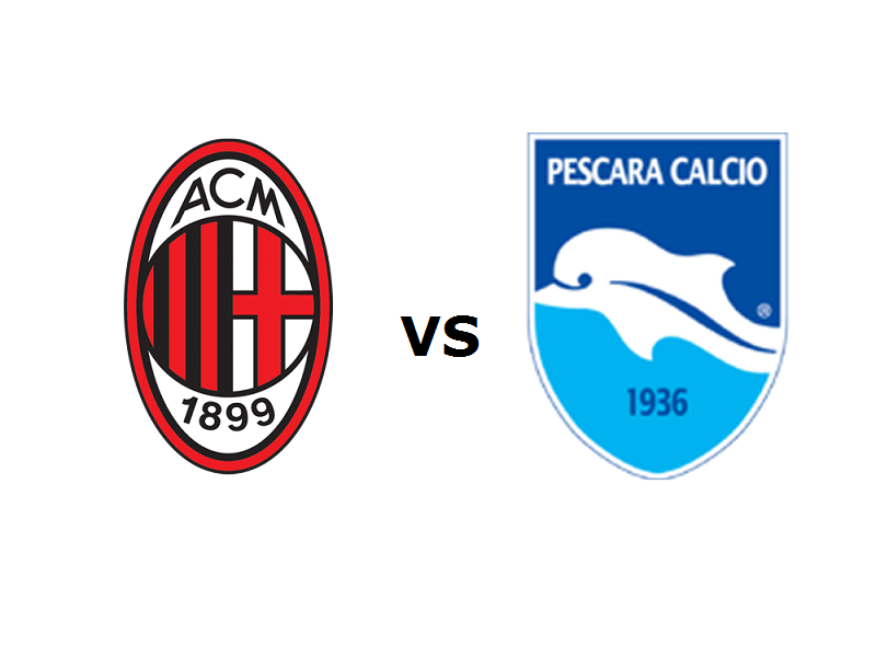 Milan Pescara streaming