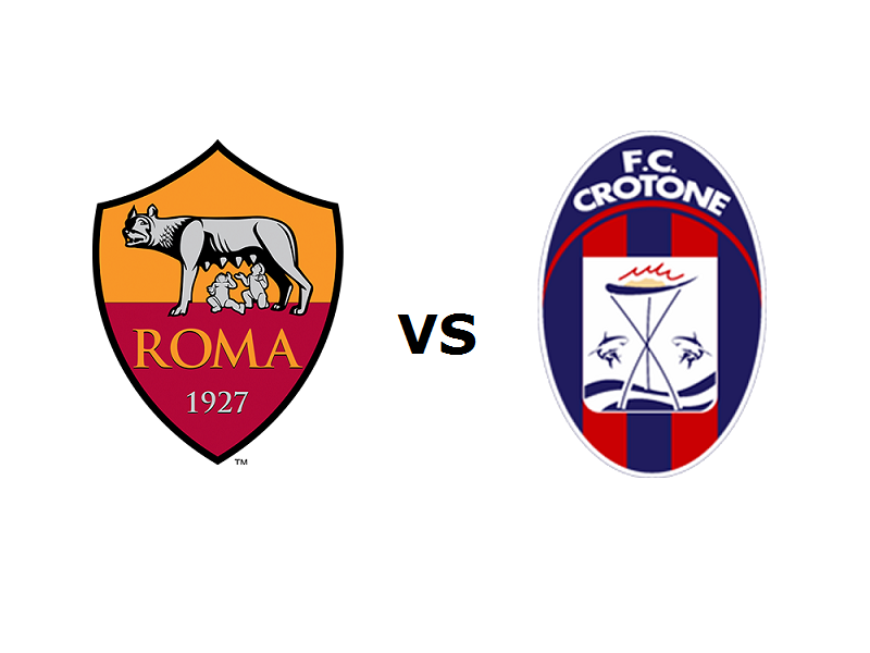 Roma Crotone streaming