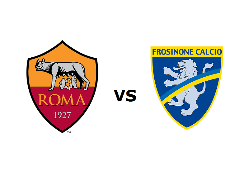 Roma Frosinone streaming