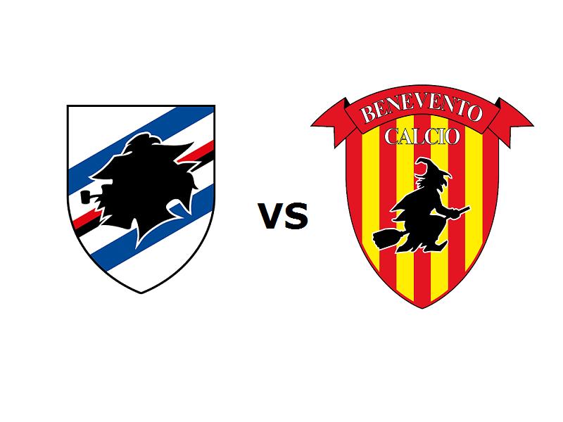 Sampdoria Benevento streaming