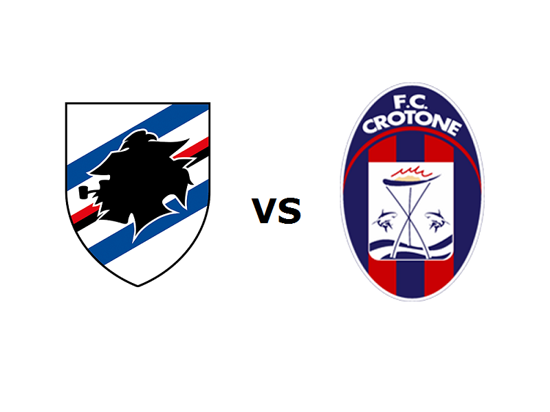 Sampdoria Crotone streaming