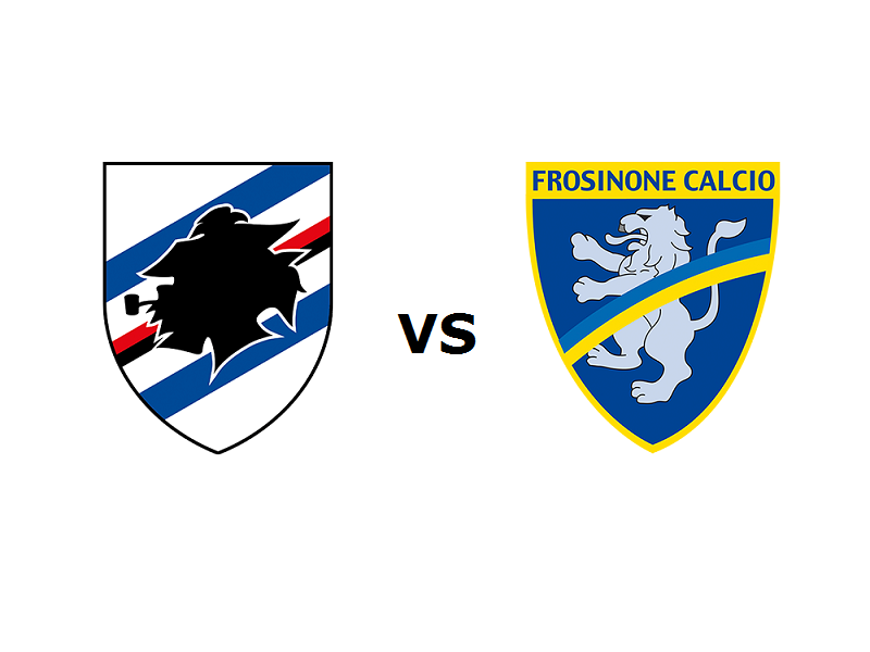 Sampdoria Frosinone streaming