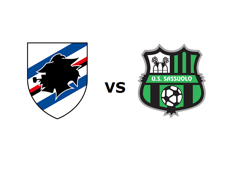 Sampdoria Sassuolo streaming