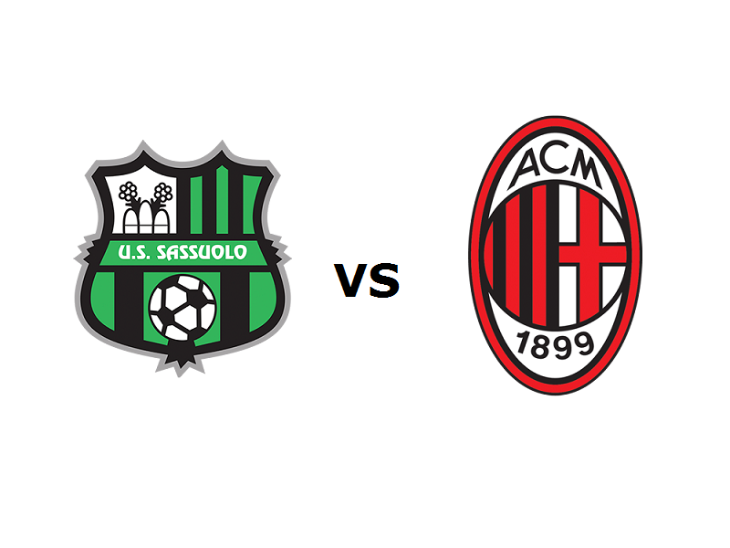 Sassuolo Milan streaming