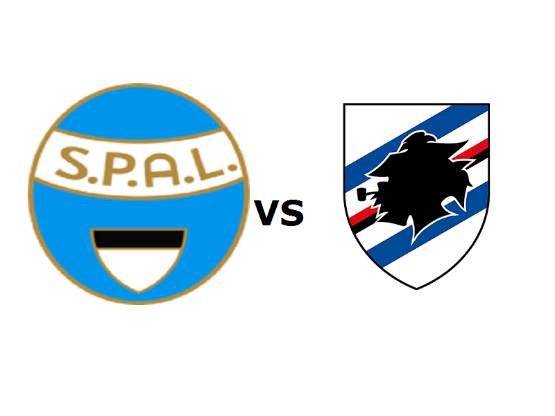 Spal Sampdoria streaming