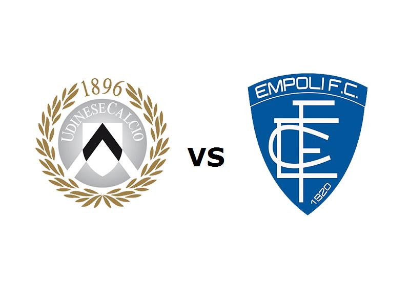 Udinese Empoli streaming