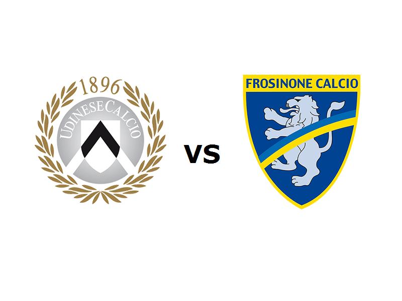 Udinese Frosinone streaming