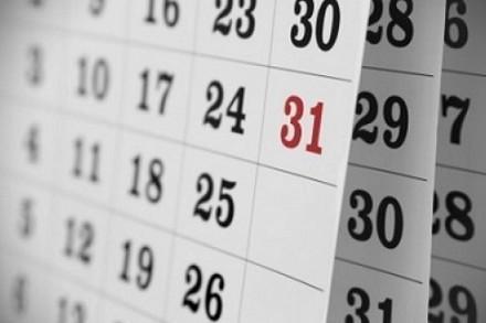 Calendario 2015: eventi da ricordare e f