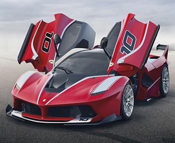 Ferrari FXX K: video prova in pista del