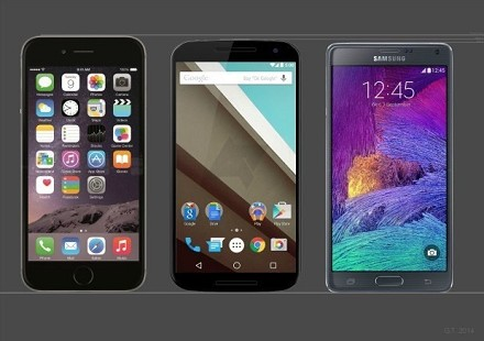 iPhone 6 vs Samsung Galaxy Note 4 vs Nex