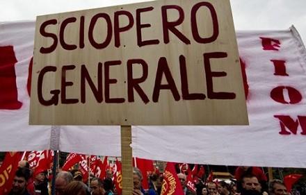 Sciopero venerdì Milano, Torino, Roma, G