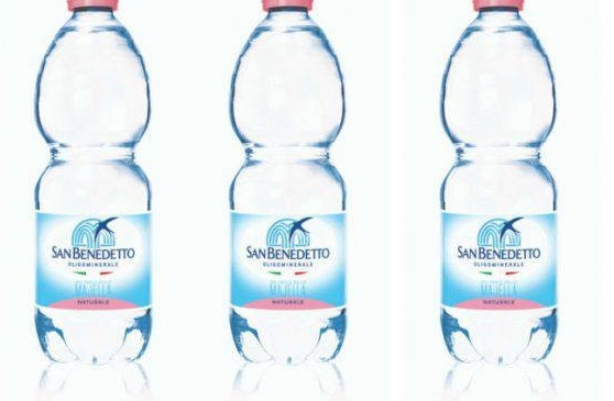 San Benedetto water from supermarkets went back because