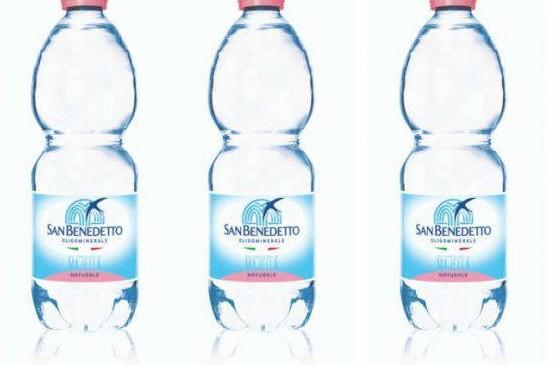 Acqua San Benedetto dal commercio tolta