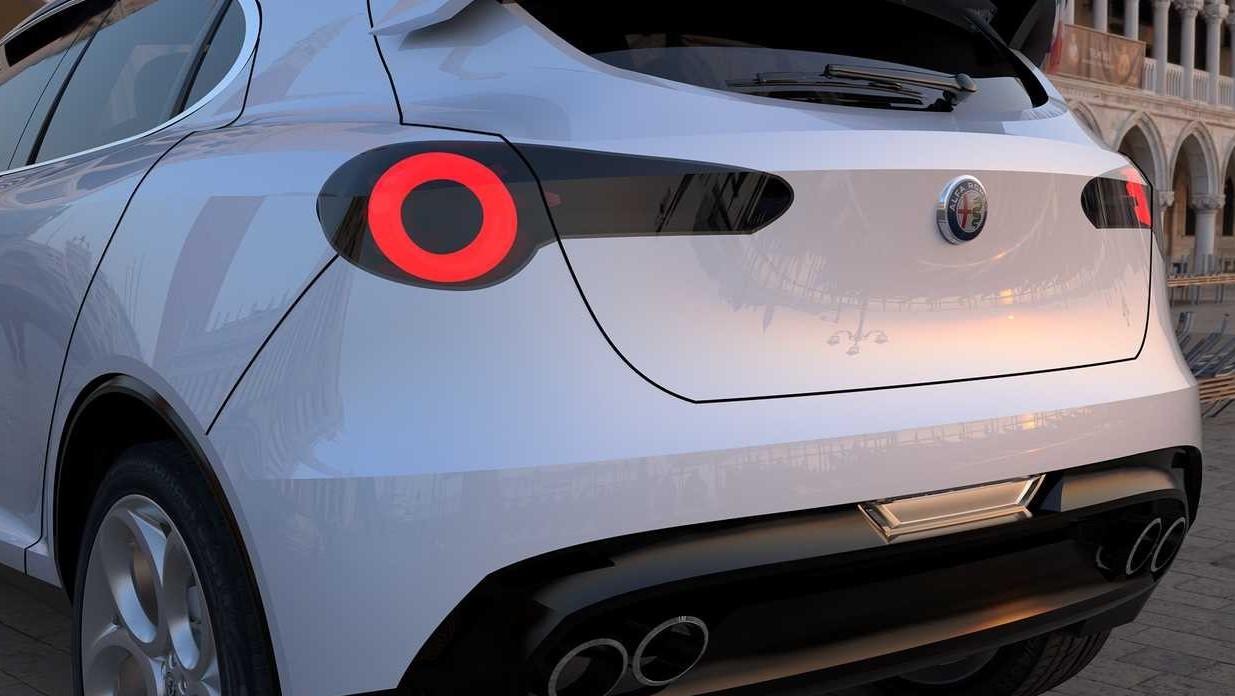 Alfa Romeo Giulietta 2019 modello nuovo.