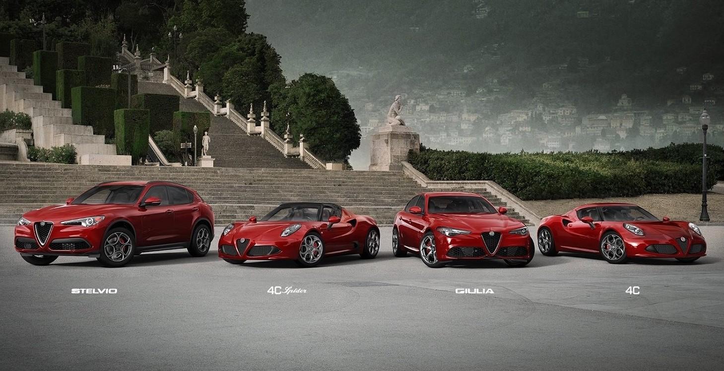Alfa Romeo nuovi modelli 2019. Ecco le n